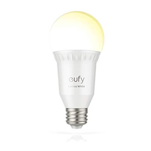 eufy Lumos Smart Wifi Dimmbare E27 LED-Lampe (2700K), Funktioniert Ohne...