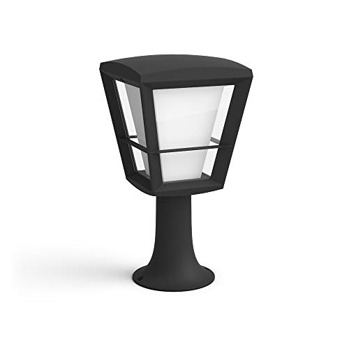 Philips Hue White & Color Ambiance Econic LED-Sockelleuchte, schwarz |...