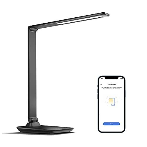 Smart Schreibtischlampe LED funktioniert mit Apple HomeKit, meross WLAN...