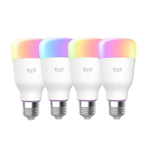 Yeelight A60 9W Smart LED Light 600lm rgbw Wifi lampe e27 220V, dimmerbar...