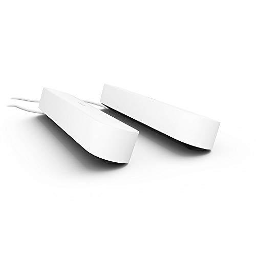 Philips Hue Play LED Tischleuchte, Weiß - Doppelpack inkl. Netzteil |...
