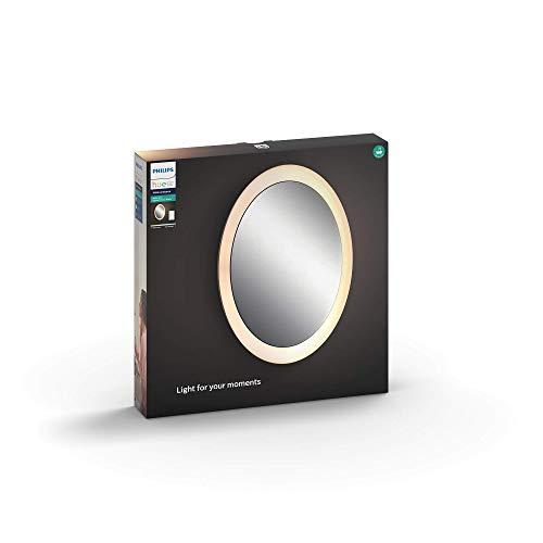 Philips Hue Adore LED Spiegel mit Beleuchtung, inkl. Dimmschalter, alle...