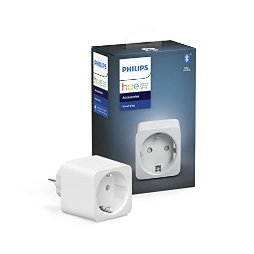 Philips Hue Smart Plug, smarte Steckdose, kompatibel mit Amazon Alexa...