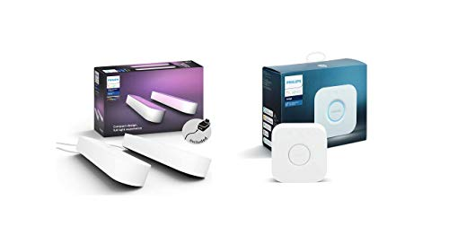 Philips Hue White and Color Ambiance Play Lightbar Doppelpack inkl. Hue...