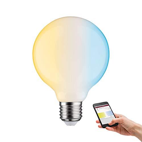 Paulmann 50396 SmartHome LED Lampe ZigBee G95 Filament TunableWhite Globe 7...