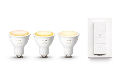 Philips Hue White Ambiance GU10 LED Reflektor 3-er Pack inkl. Hue...