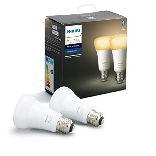 Philips Hue White Ambiance E27 Doppelpack 2x806lm Bluetooth 8.5W = 60W...