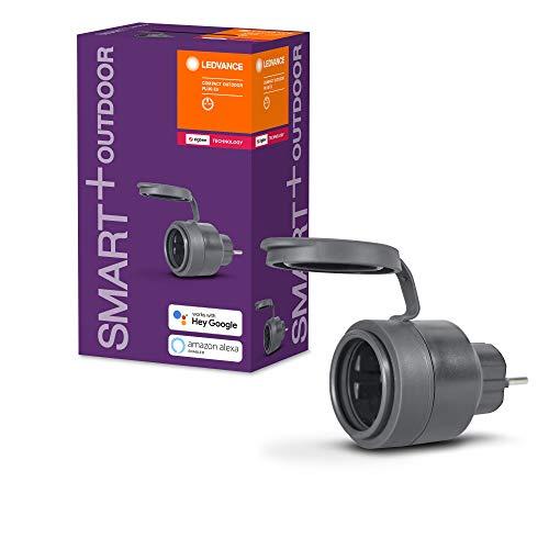LEDVANCE Smarte Steckdose für Aussen mit ZigBee Technologie im kompakten...