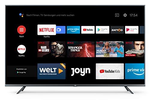 Xiaomi Mi Smart TV 4S 55' (4K Ultra HD, Triple Tuner, Android TV 9.0,...