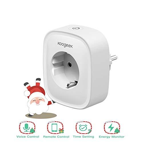 Smart Plug Koogeek Intelligente Steckdose Kompatibel mit Alexa, Google...