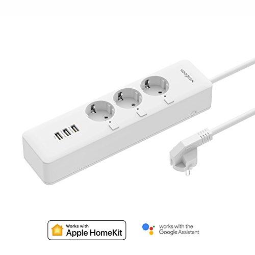 Smart Steckdosenleiste Koogeek Intelligent WiFi-stopcontact werkt mit...