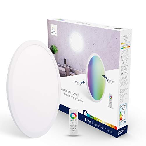 tint von Müller-Licht Smartes LED-Panel Loris rund, Ø 45cm, white+color...