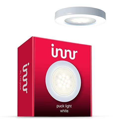 Innr Puck Light Erweiterung, 1 LED-Lampe, warm weiß, dimmbar (EINZELPACK -...