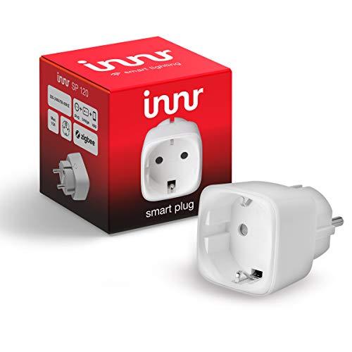 Innr SmartPlug, Philips Hue* & Echo Plus kompatibel, intelligente...