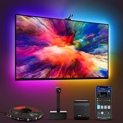 Govee Immersion WiFi LED TV Hintergrundbeleuchtung mit Kamera, für 55-65...