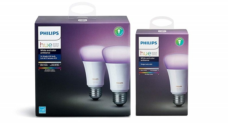 3er Pack Philips Hue E27 White & Color Ambiance