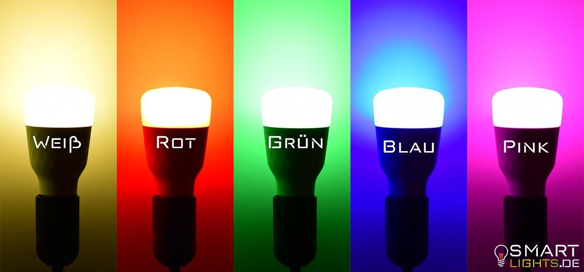 Farben Xiaomi Yeelight 2. Generation