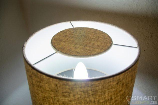 Innr E14 Smart LED Kerze leuchtet in Weiß