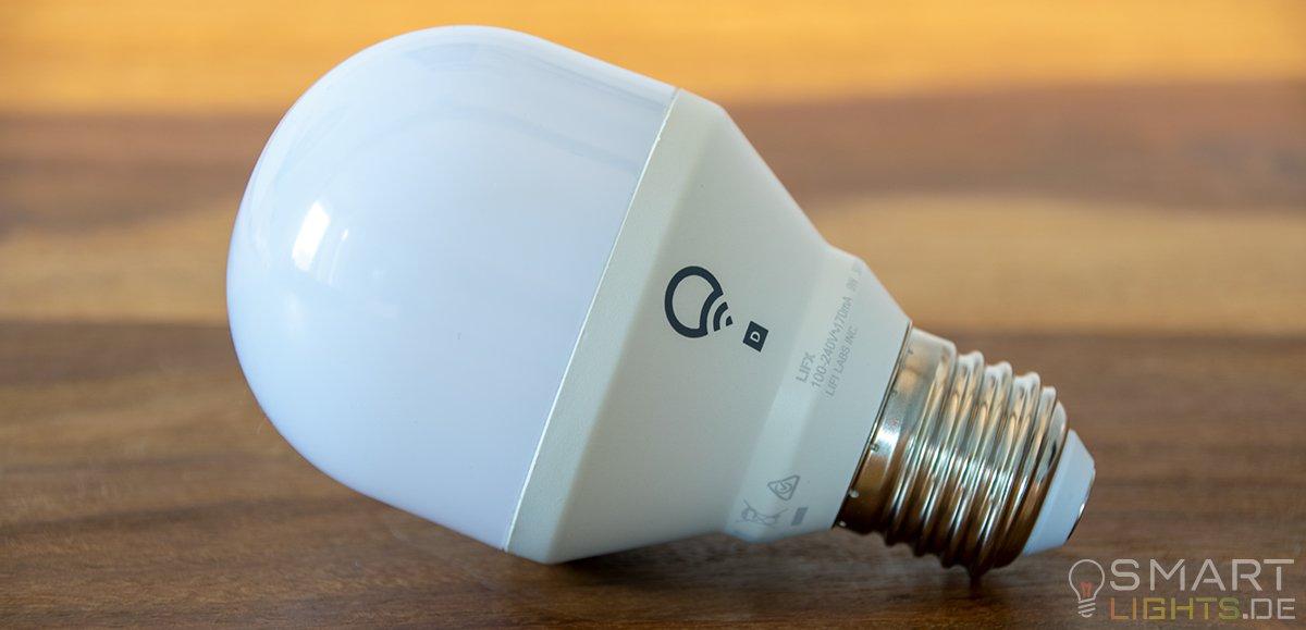 LIFX Mini Day & Dusk E27 smarte WLAN LED-Birne