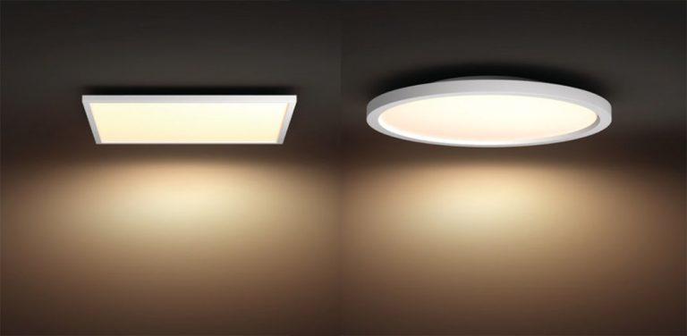 Philips Hue Aurelle: LED Panel Lampe in 4 Größen wird noch dieses Jahr vorgestellt