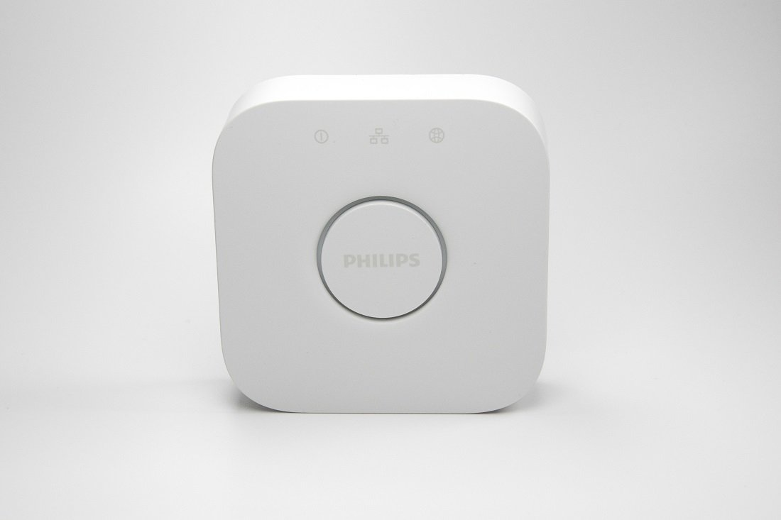 Philips Hue Bridge V2 Eckig vorne