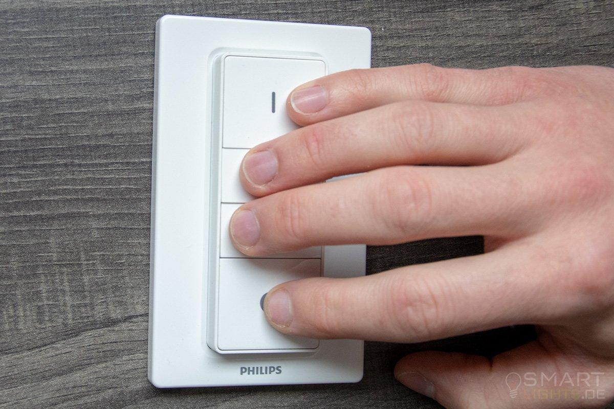 Philips Hue Dimmschalter reagiert nicht: Soft Reset schafft