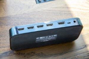 Philips Hue HDMI Sync Box Rueckseite