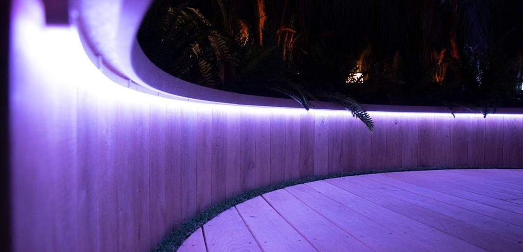 Philips Hue Outdoor Lightstrips Nahaufnahme
