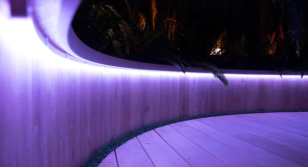 Philips Hue Outdoor Lightstrips Nahaufnahme