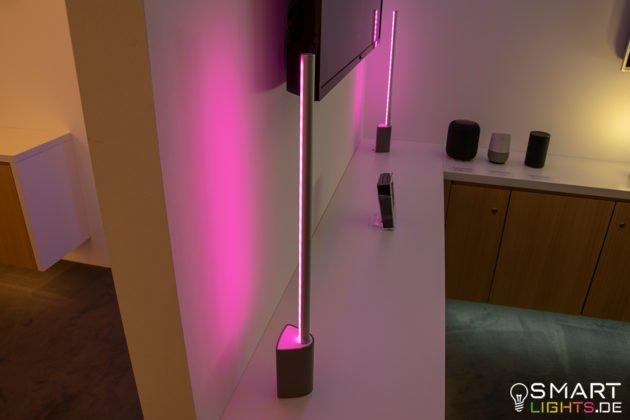 Philips Hue Signe Tischlampe Fernseher