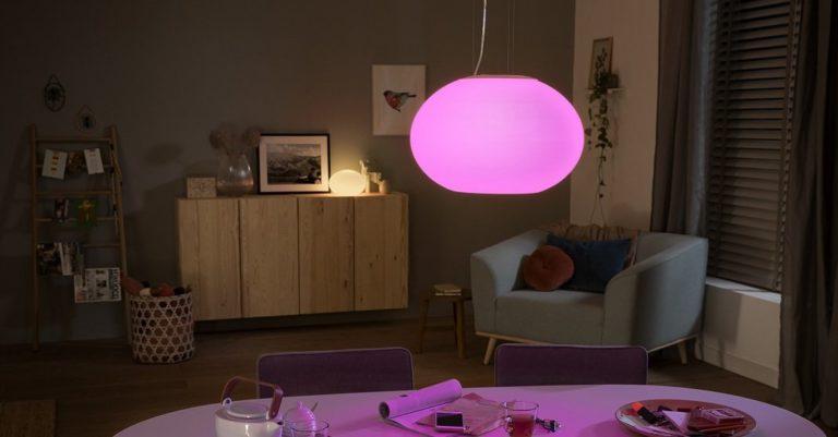 Philips Hue Flourish Serie kommt in 3 schicken Ausführungen im Oktober auf den Markt
