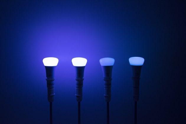 Philips Hue erste bis vierte Generation Blau
