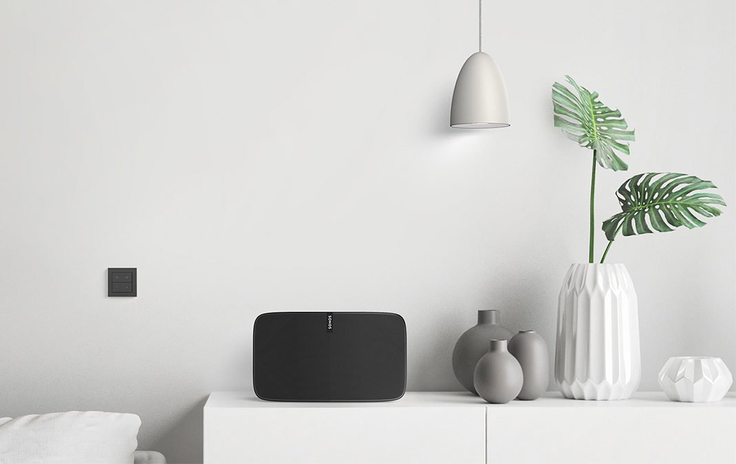 Senic Nuimo Click EnOcean Schalter für Philips Hue und Sonos