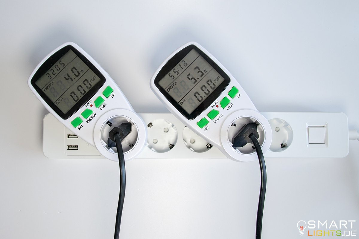 Vergleich Stromverbrauch Xiaomi Yeelight 1.- und 2. Generation