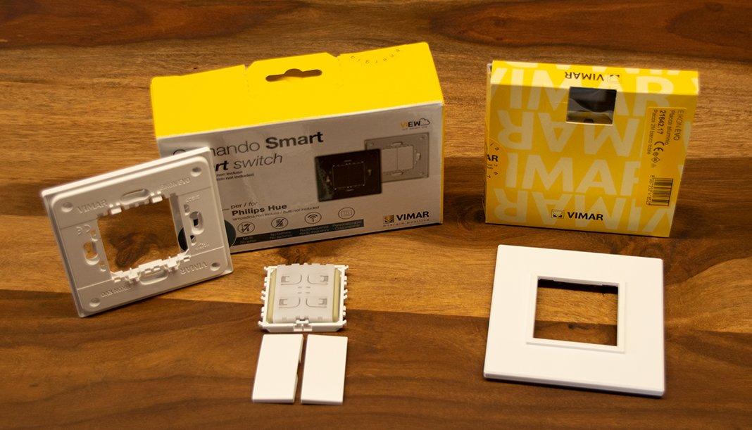Vimar Friends of Hue Comando Smart Lichtschalter im Test