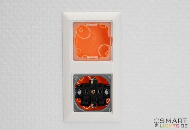 Voltus EHAK02 Montageset für den Philips Hue Tap Hohlraumdose + Platte