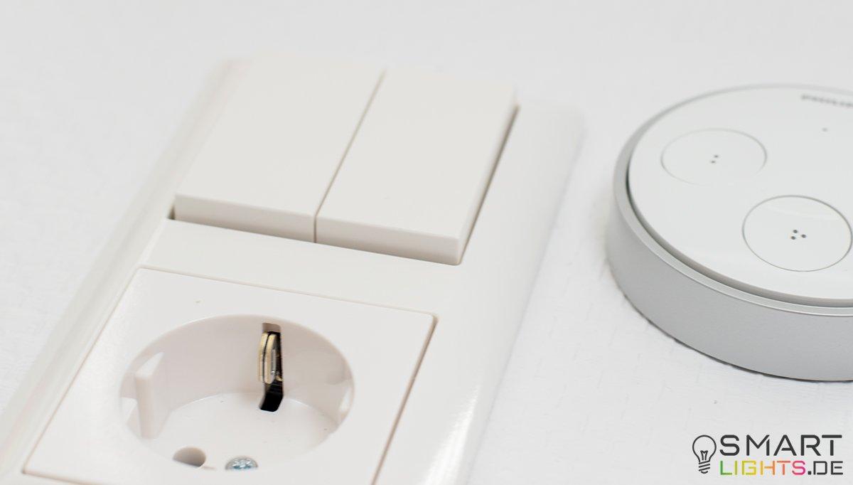 den philips hue tap in einen richtigen schalter umbauen. Black Bedroom Furniture Sets. Home Design Ideas