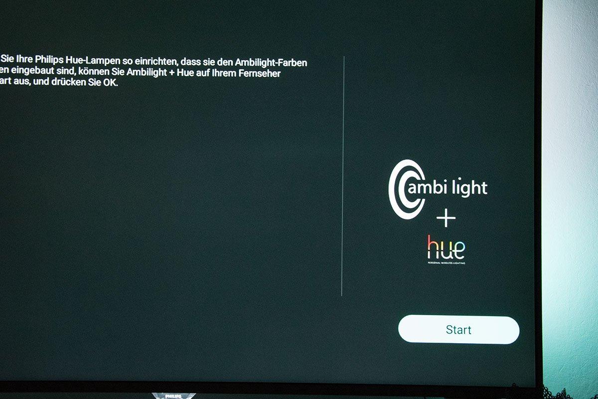Hue Lampen Philips : Ambilight tv mit philips hue leuchtmittel verbinden einrichten