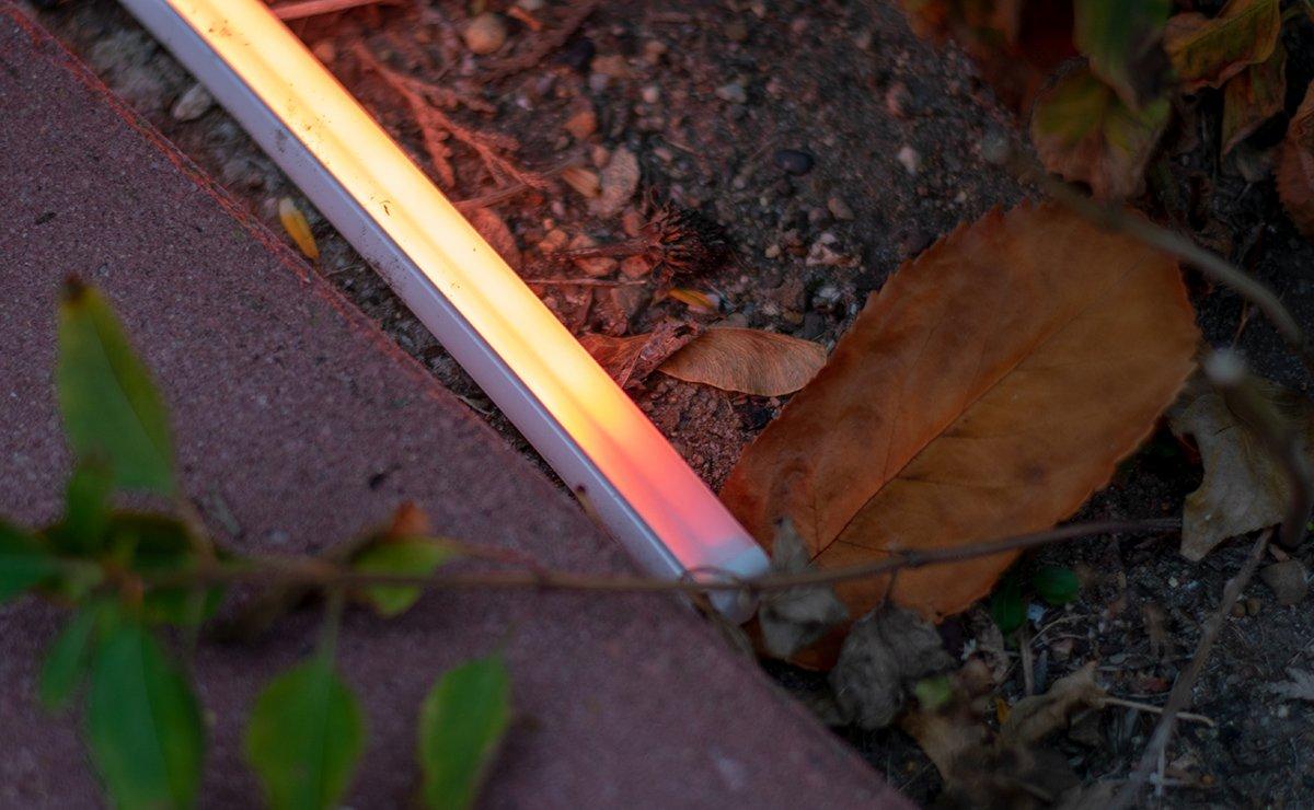 Die Letzten Zentimeter Vom Philips Hue Outdoor Lightstrip Leuchten